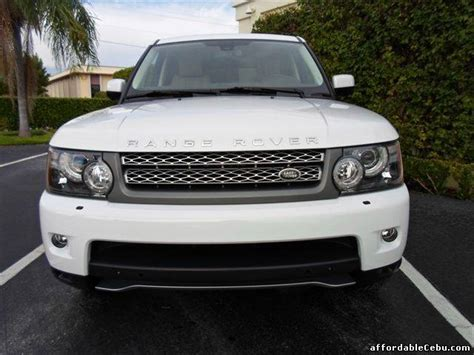 land rover philippine 2011 land rover range rover sport supercharged for sale