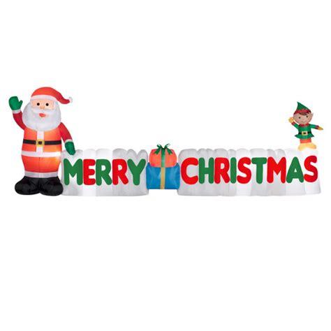 lighted merry christmas banner princess decor