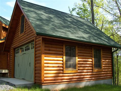 cabin plans with garage log cabin garages 2 car log garage with apartment log