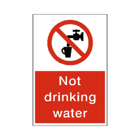 not but water not water sticker safety label co uk safety signs safety stickers