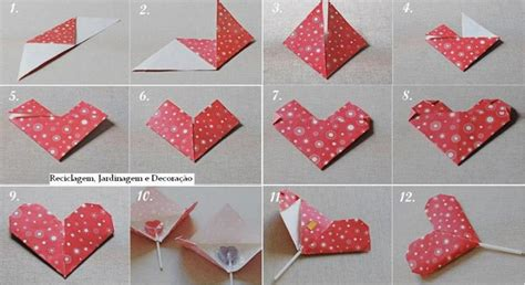 valentine origami tutorial lovers ring how to make a heart lollipop package for kids step by step
