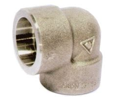 90 6000 1 Sw A182 F316l 90 deg forged fittings in golden highope