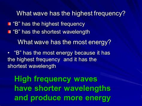 which color of light has the highest frequency grade 8 science waves light sound light color spectrum