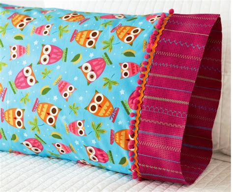 sewing pattern pillowcase sew a perfect pillowcase using the tube method totally