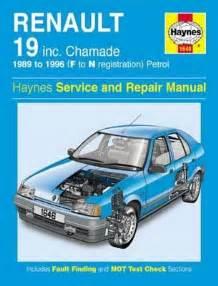 Renault 19 Manual Renault 19 Petrol Service And Repair Manual 1989 1996