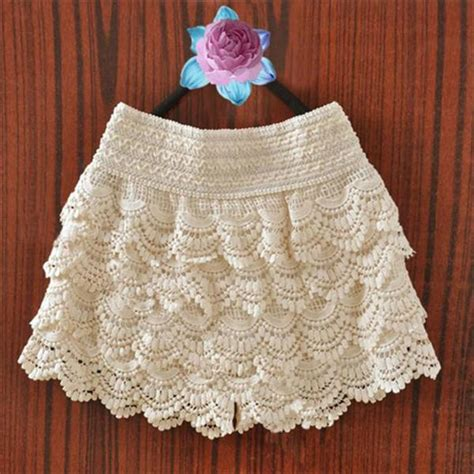Crochet Shorts diy shorts with lace 8 diy ideas diy and crafts