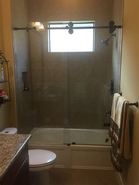 Shower Barn Door Frameless Sliding Glass Shower Door Hardware Frameless Sliding Glass Shower Awesome