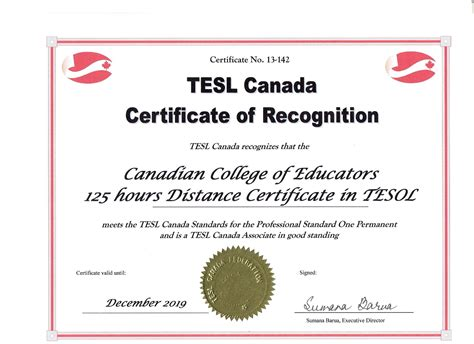 esl tefl tesol to canadian tesol certificate program with practicum 125 hrs