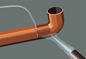 how to solder copper pipes at the home depot
