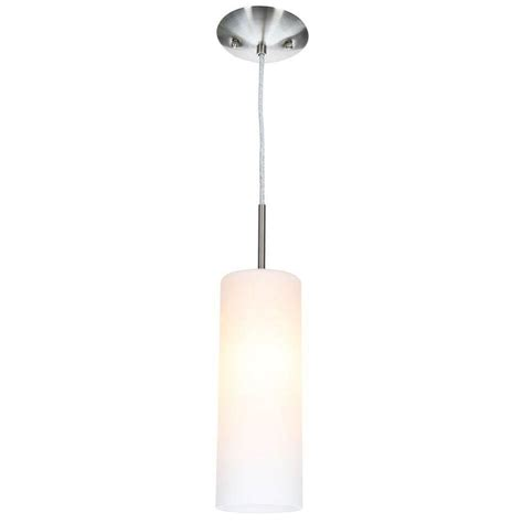 Home Depot Pendant Lighting Eglo Troy 3 1 Light Matte Nickel Hanging Mini Pendant 20129a The Home Depot