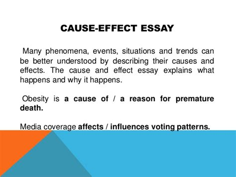 Exle Essay Cause And Effect by Thesis Statement For Obesity 28 Images Obesity Thesis Statement Outline Exle Childhood