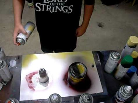 spray paint beginner spray paint for beginners