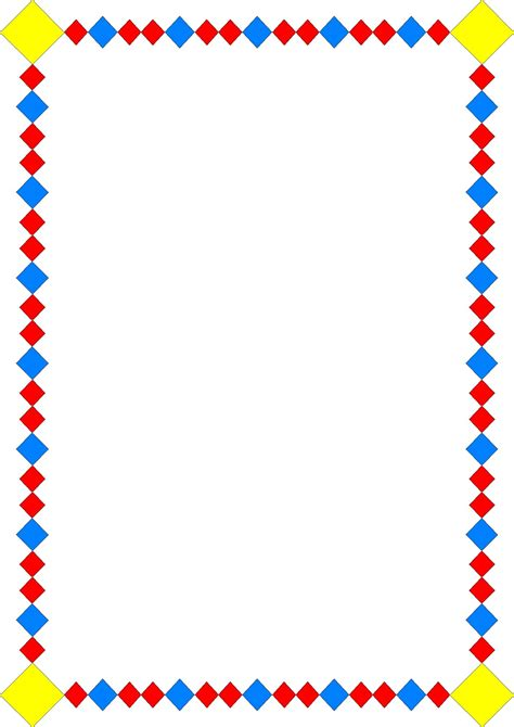 clipart borders free clipart frames and page borders clipartsgram