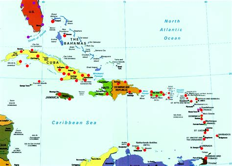 map of the caribbean islands map of the caribbean islands myideasbedroom