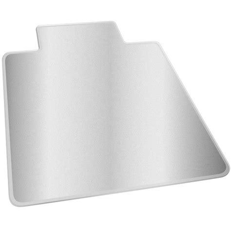 clear vinyl protector deflect o hard floor clear 46 in x 60 in vinyl economat