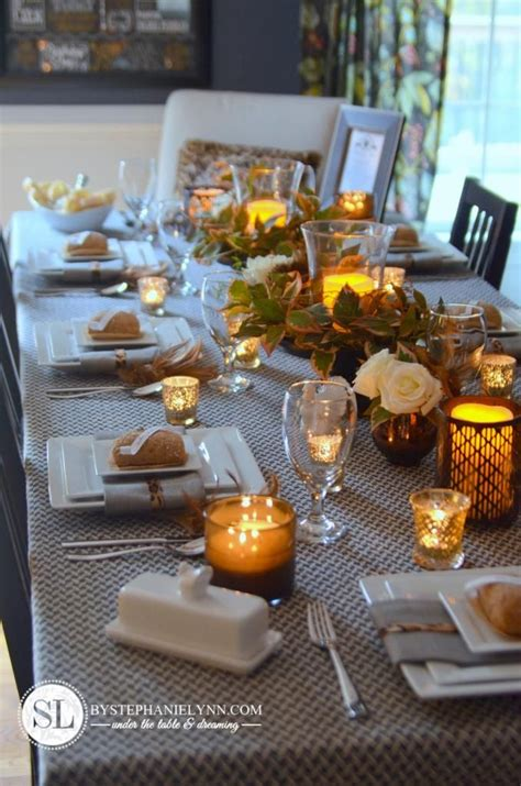 thanksgiving table setting gardens better homes and