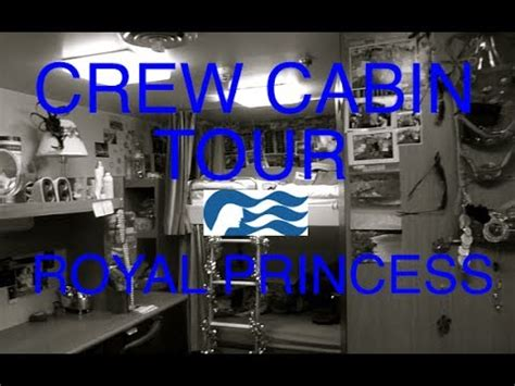 Crew Cabin Tour   Royal Princess Cruise Ship   YouTube