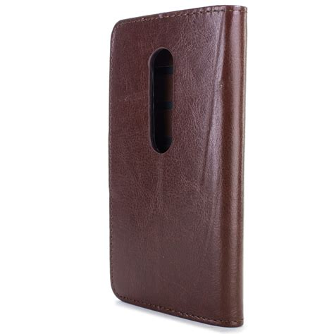 Faux Leather Phone Pouch faux leather wallet flip pouch phone for motorola