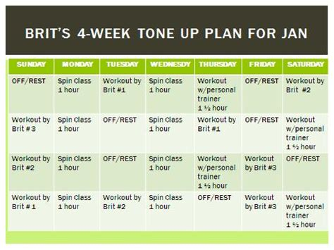 4 week tone up challenge grit by brit