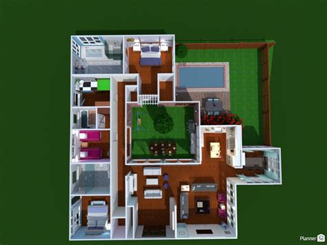 planner 5d in beautiful quot atrium house quot house ideas planner 5d