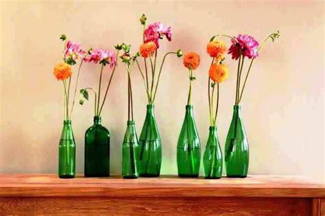 ツ 25 model vas bunga unik dari kaca tanah liat bahan bekas keramik