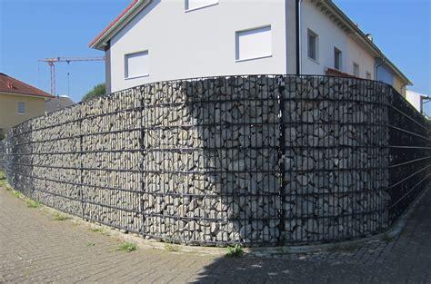 Hangsicherung Gabionen Kosten by Gabionen Und Gabionenbau Einsatzgebiete Und