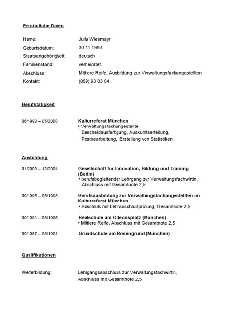 Lebenslauf Muster Verwaltungsfachangestellte Bewerbungs Paket Verwaltungsfachangestellte Muster Zum