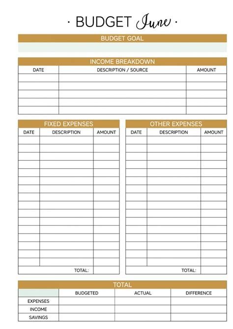planner free best 25 monthly budget planner ideas on