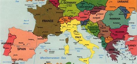 southern europe map map of europe cities pictures maps of southern europe regions picture