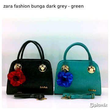 7895 Tas Fashion Wanita Abu Murah toko jual grosir tas branded zara fashion harga murah ukuran s abu abu hijau daganganku