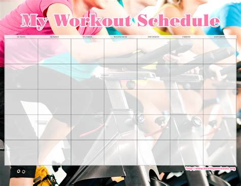 31 free printable exercise calendars healthy workouts
