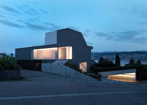 modern german house clad in glass offers unabated lake views feldbalz house contemporary glass home with brilliant
