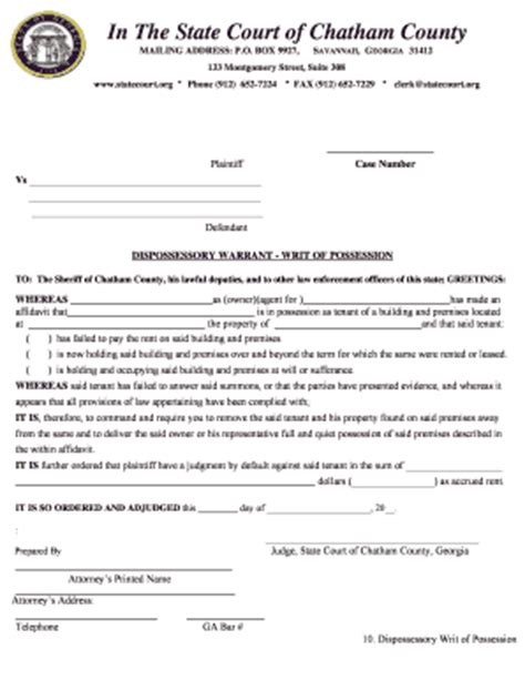 Virginia Search Warrant Form Ga Quit Claim Deed Form