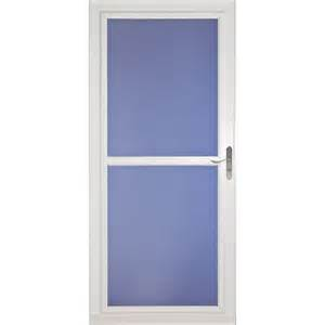 larson storm door replacement glass larson 32 in x 81 in white tradewinds full view tempered