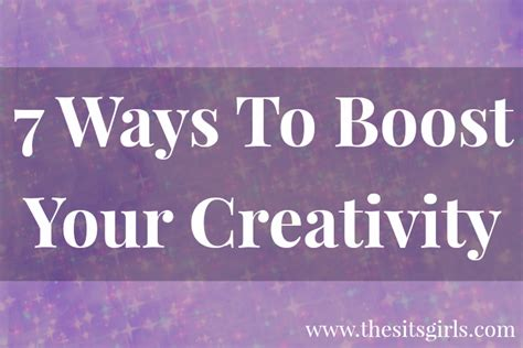 7 Ways To Boost Your Creativity | 7 ways to boost your creativity
