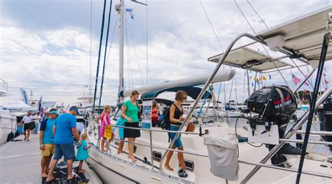 san pedro boat show southern california in water boat show brings boats