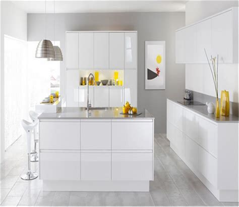 high gloss white kitchen cabinet doors melamine plywood kitchen cabinet with uv high gloss mdf