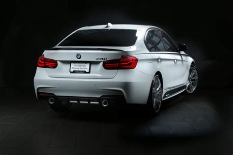 bmw 340i touring with m performance exhaust on
