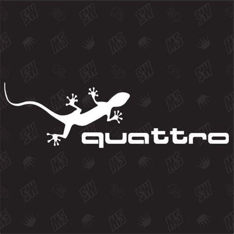 Audi Aufkleber Ebay by Quattro Gecko Tuning Car Sticker Auto Aufkleber Ebay