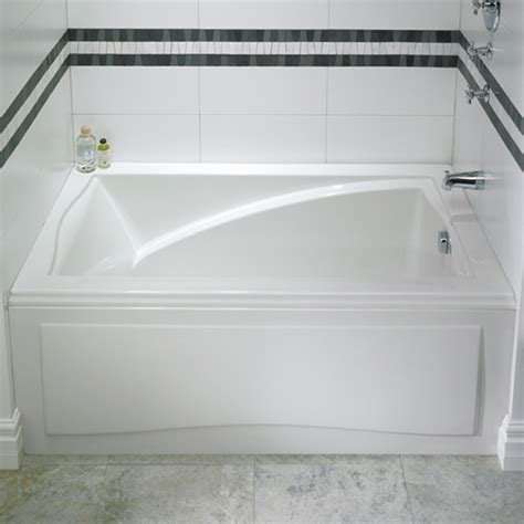 alcove whirlpool bathtub alcove tub bathtub with skirt flange for 3 wall alcove
