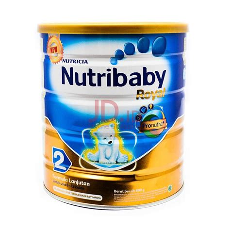Nutribaby Royal jual nutribaby royal 2 formula tin 800gr jd id