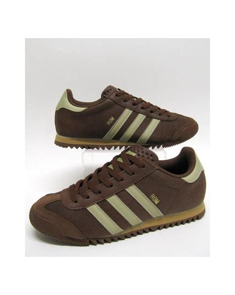 Adidas Rom Black Original brown adidas originals trainers mutantsoftware co uk