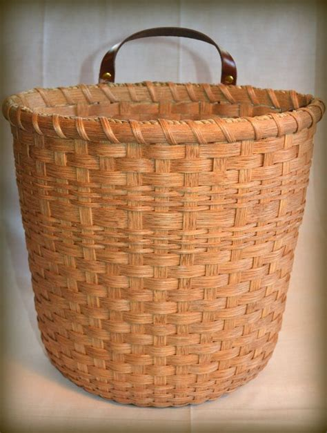 Handmade Woven Baskets - handmade woven basket for recycled plastic bags