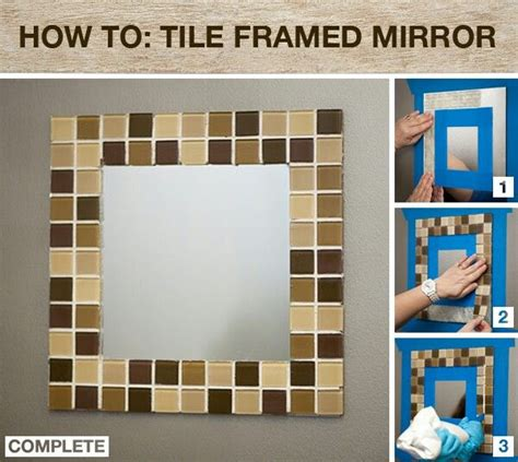 how to frame a bathroom mirror over plastic clips 72 best images about diy mirrors on pinterest plastic