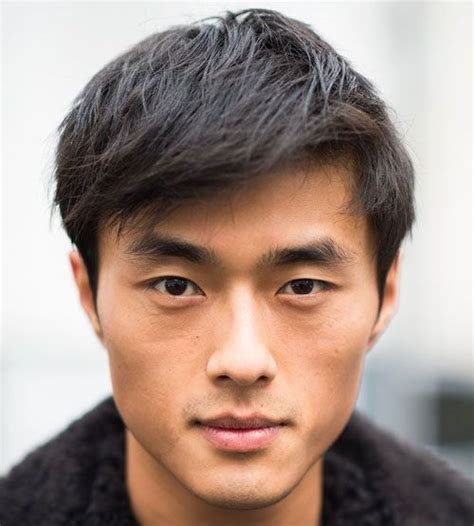 asian men hairstyle for round face shape hairstyle for square face asian man hair