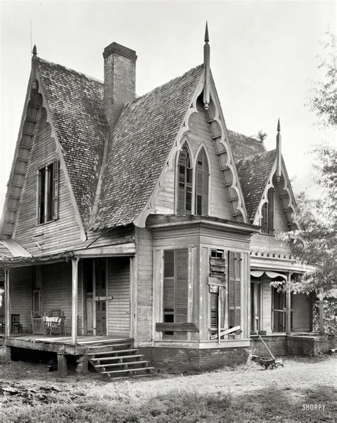 gothic revival home shorpy historical photo archive 1939 quot knight house