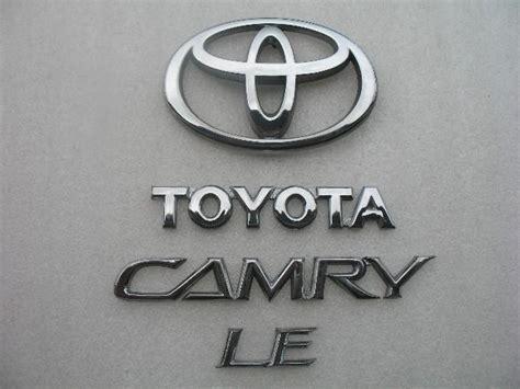 Emblem Crome Original Tulisan Astra Toyota find 2002 toyota camry le rear trunk chrome emblem logo badge symbol sign 03 04 05 06 motorcycle