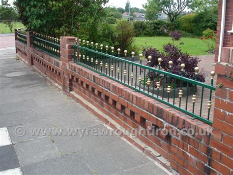 Wyre Wrought Iron Railings Garden Ornamental Garden Wall Security
