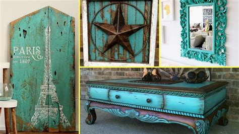 furniture and home decor diy shabby chic distressed turquoise furniture decor