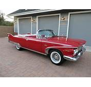 1960 PLYMOUTH FURY CONVERTIBLE  181429